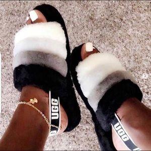 Ugg High Quality Fur Women Sandals.